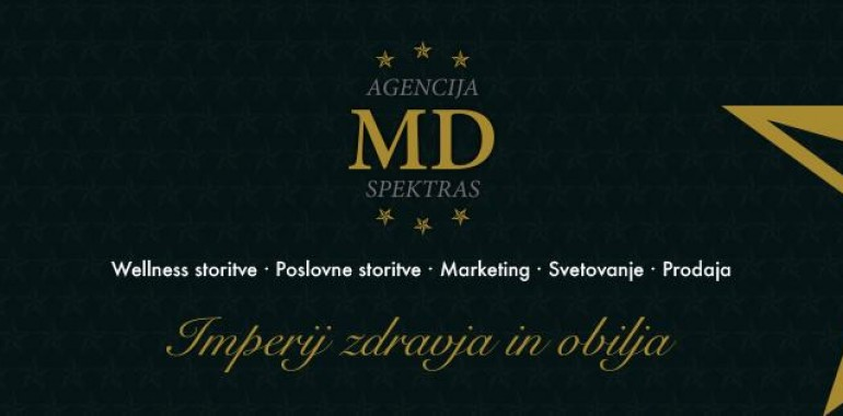Agencija MD Spektras, masažna nega telesa, marketing in svetovanje