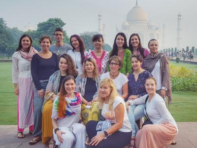 Joga potovanje v Indijo z Nush Yoga