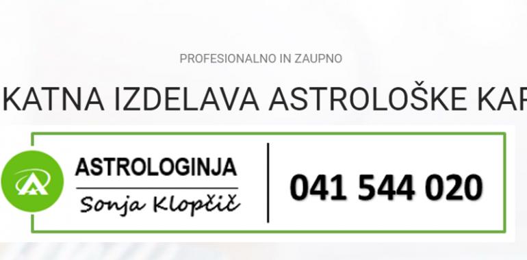 Sonja Klopčič, astrološko svetovanje