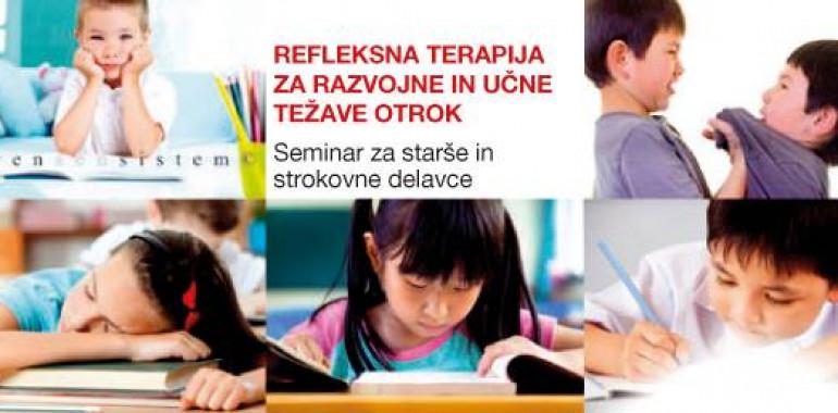 Seminar – Refleksna terapija za razvojne in učne težave otrok
