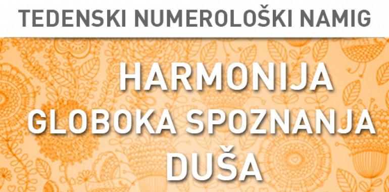 Tedenski numerološki namig 14.–20. 12. 2015