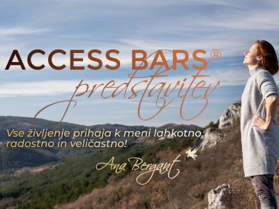 Adijo, stres in depra! Access Bars predstavitev