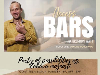 Access Bars delavnica z Brendonom Watt