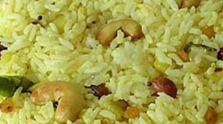 Ajurvedski recept Basmati riž z limono in oreščki