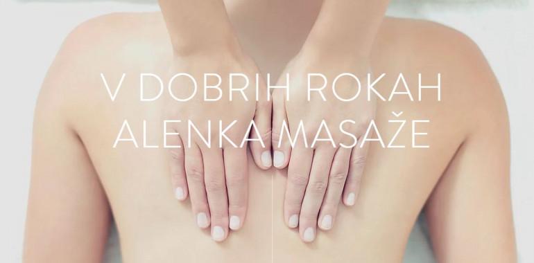 Alenka masaže, Masaža, ReiKi