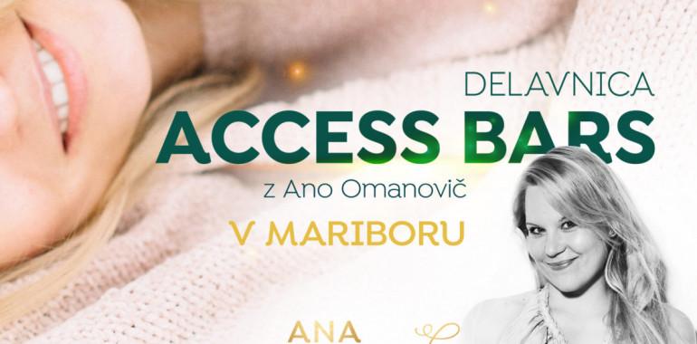 ACCESS BARS z Ano Omanovič v Mariboru