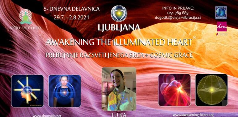 Prebujanje razsvetljenega Srca - Ljubljana