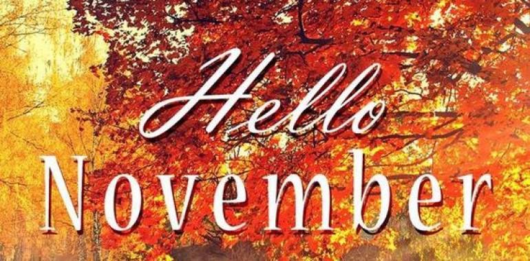 Sporočilo novembra ...
