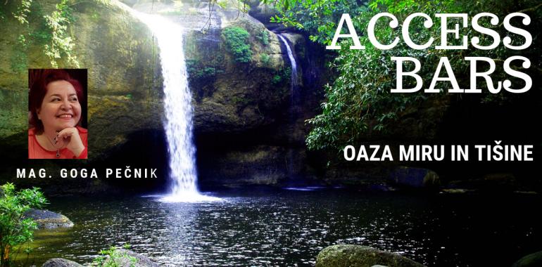 Delavnica Access Bars® - oaza miru in tišine