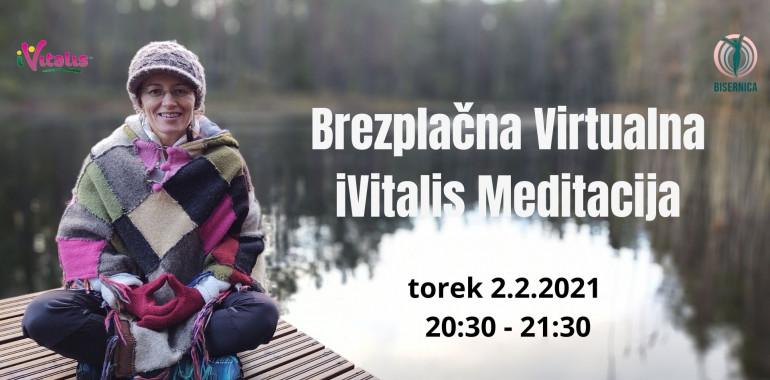 Brezplačna Virtualna iVitalis Meditacija