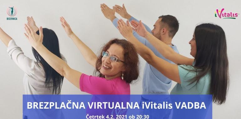 Brezplačna Virtualna iVitalis  Vadba