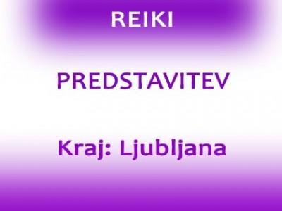 Reiki predstavitev v Ljubljani