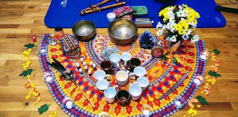 Biserna šamanska zvočna kopel, zvočne terapije, meditacije, rebirthing