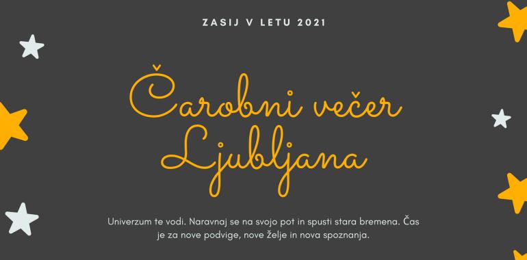 Čarobni večer v Ljubljani z Mašo Plaznik