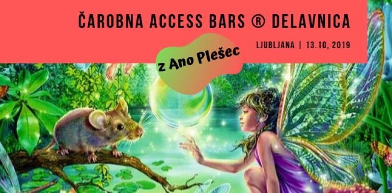 Access Bars ® delavnica z Ano