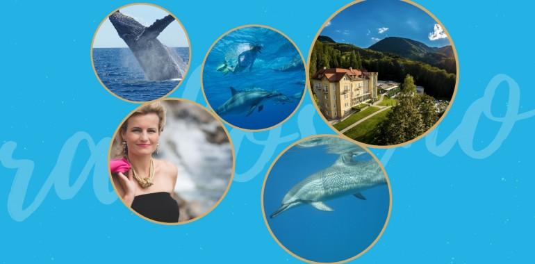 Radost in življenje brez omejitev z delfini in kiti