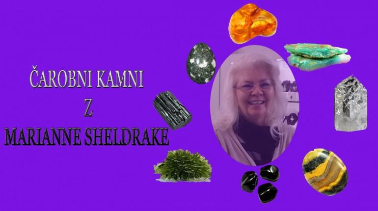 Marianna Sheldrake s čarobnimi Kristali