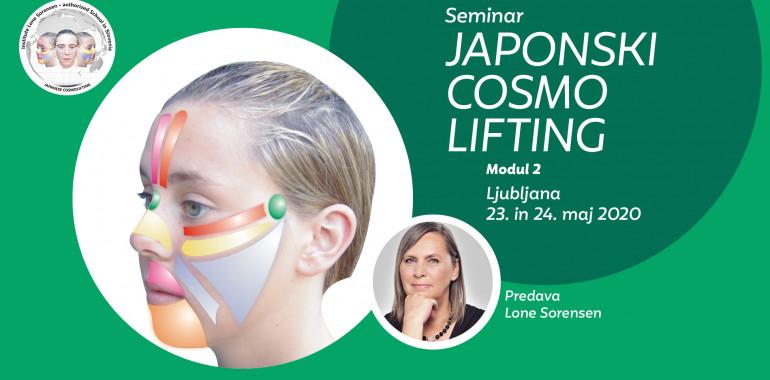 Seminar Japonski cosmo lifting - modul 2