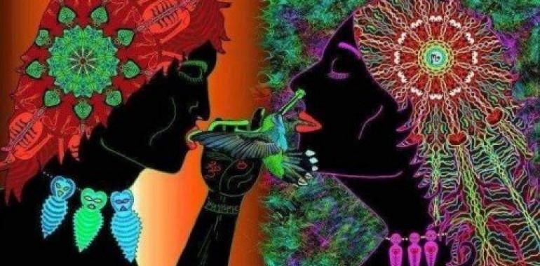 Južnoameriške Obredne pesmi in Amazonski Sveti Prah