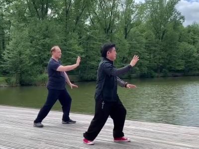 Predstavitvena vadba Wu Hao Tai Chi v Tivoliju