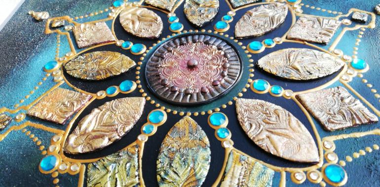 Mandala 4 you by Marjanca Vergan,  svet čarobnih mandal in astrologije