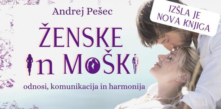 Ženske in moški, predavanje in predstavitev knjige, Andrej Pešec