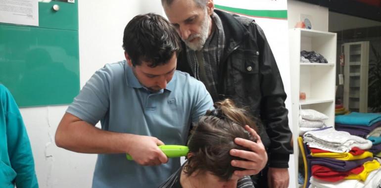 Terapija in raziskava masaže zatilja po metodi HumanUP