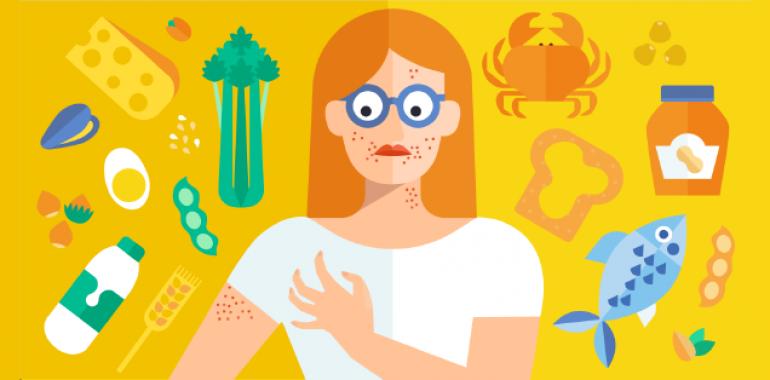 Alergije na hrano pri otrocih in kako jih lahko TKM odpravi?