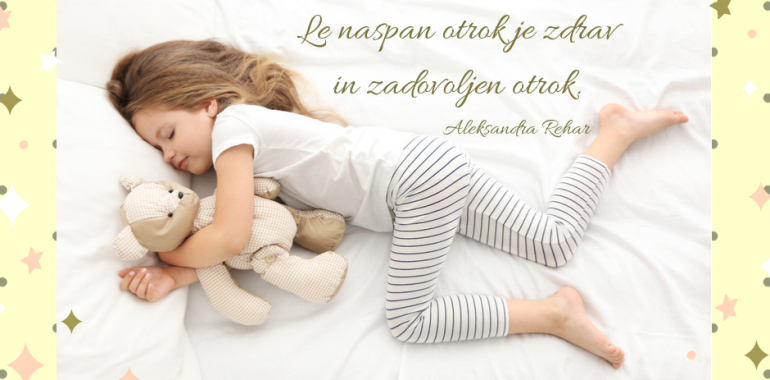 Kako otroke pripraviti do spanja?