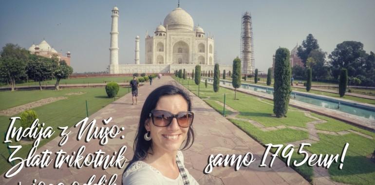 Indija z Nušo – Zlati trikotnik in oddih v prestolnici joge