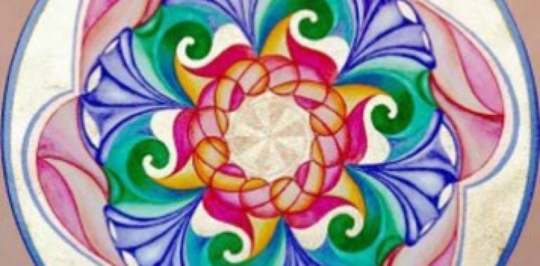 Tečaj risanja mandal na podlagi svete geometrije