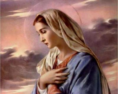 Meditacija: Tolažeči slapovi ljubezni Svete matere Marije