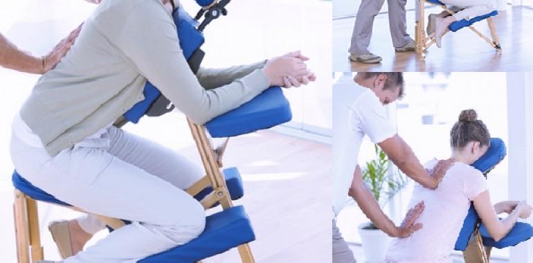 Aktivna masaža na stolu