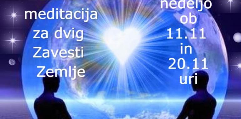 Združena meditacija za dvig zavesti Zemlje