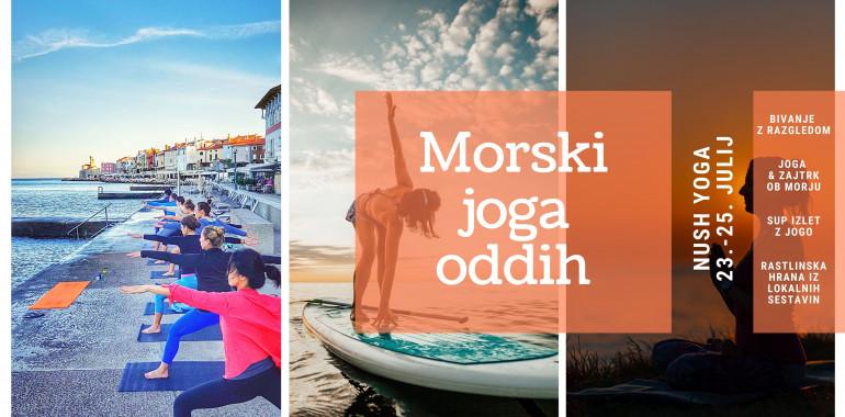 Morski joga oddih na slovenski obali