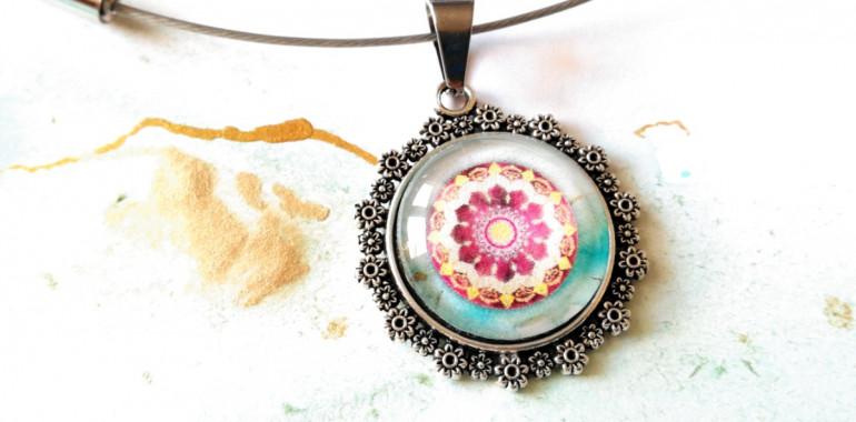 Energijski nakit z designom mandale