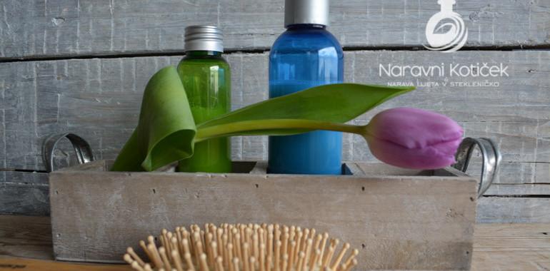 Izdelava šampona in balzama za lase – naravna nega las
