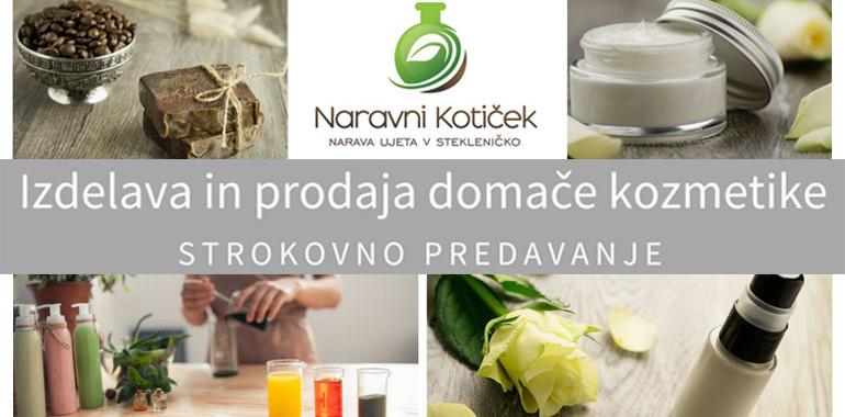 Prodaja domačih kozmetičnih izdelkov - OD A DO Ž