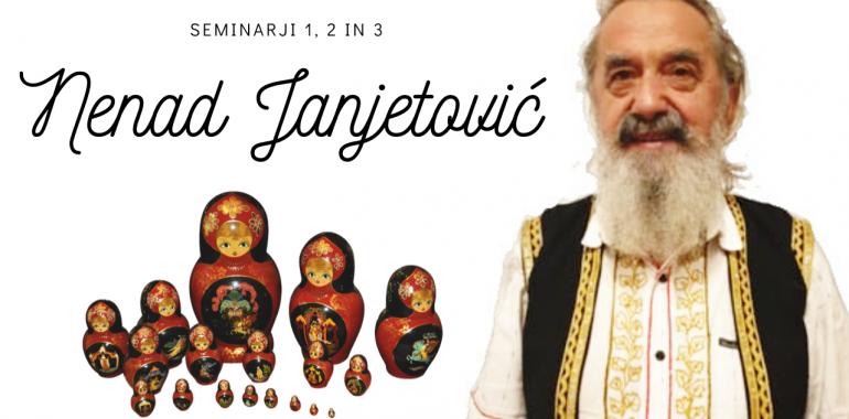 Seminarji z Nenadom Janjetovičem