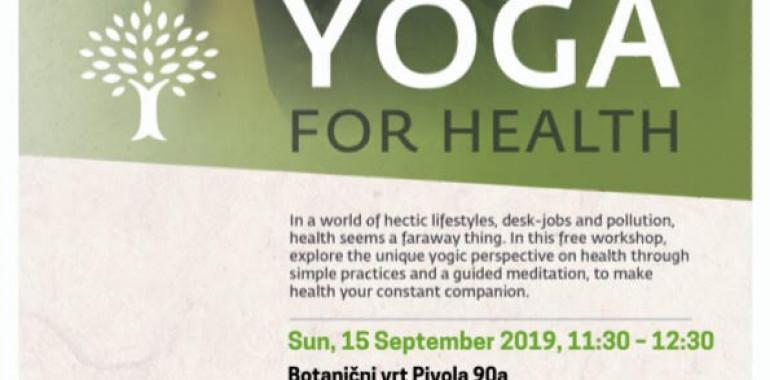 Joga za zdravje