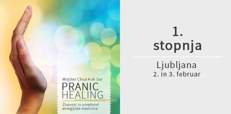Osnovni Pranic Healing tečaj ponovno v Ljubljani