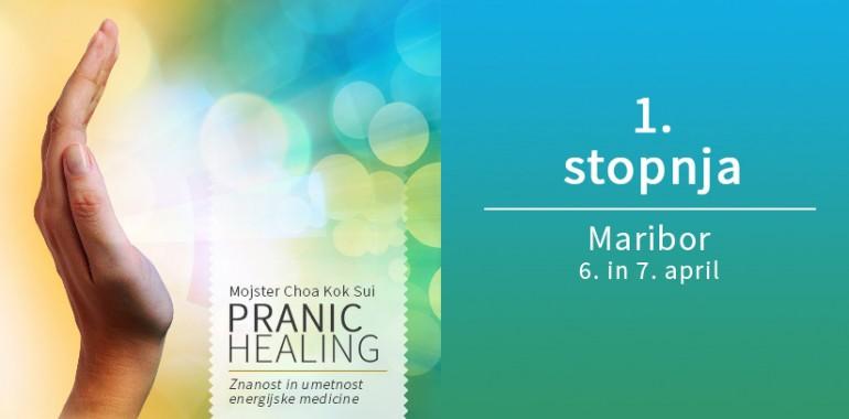 Osnovni Pranic Healing tečaj aprila v Mariboru