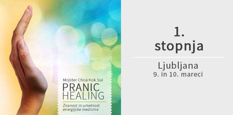 Osnovni Pranic Healing tečaj marca v Ljubljani