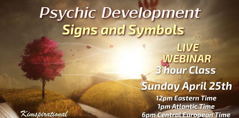 Razvoj intuitivnih sposobnosti – znaki in simboli