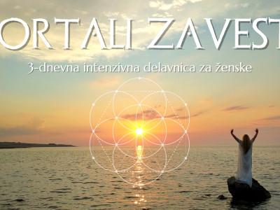 Portali Zavesti: 3-dnevna intenzivna delavnica za ženske