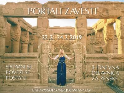 Portali Zavesti: 3-dnevna delavnica za ženske