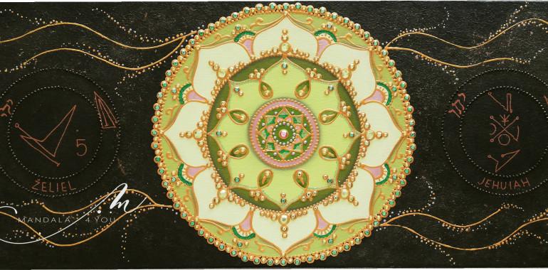 Izdelava osebnega TALISMANA - v obliki mandale