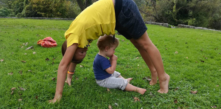 Anahatha joga - joga za otroke, odrasle in družine
