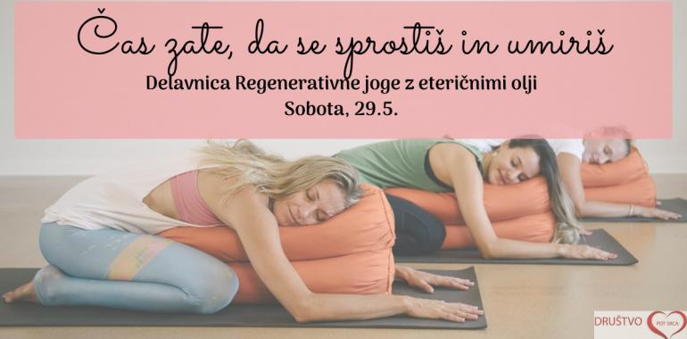 Regenerativna joga z eteričnimi olji