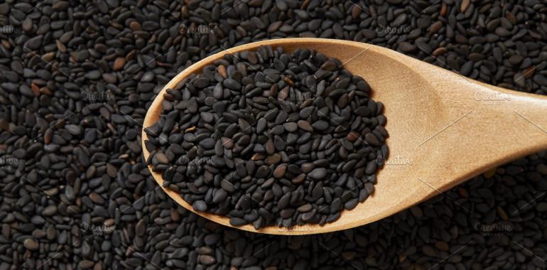 Zdrave koristi semen črnega sezama